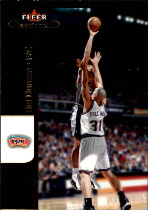 2001-02 Fleer Maximum #34 Tim Duncan