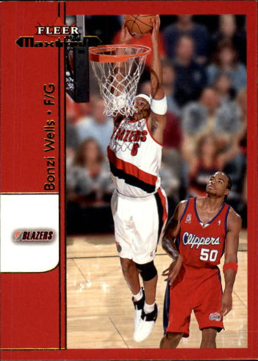 2001-02 Fleer Maximum #35 Bonzi Wells