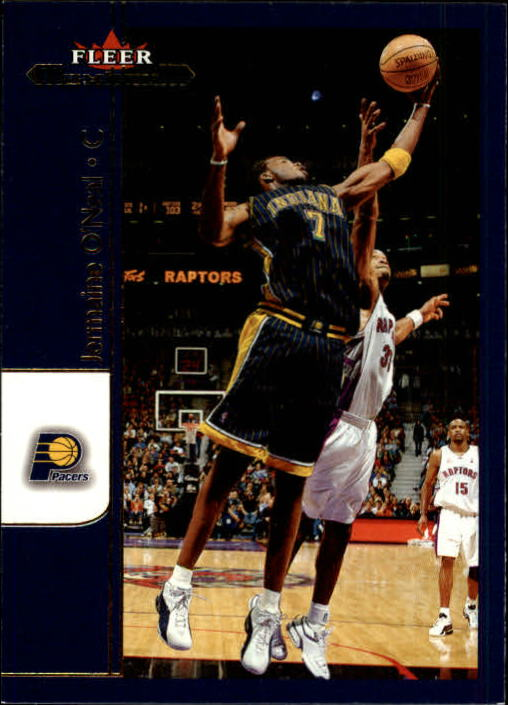 2001-02 Fleer Maximum #38 Jermaine O'Neal