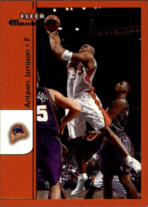 2001-02 Fleer Maximum #40 Antawn Jamison