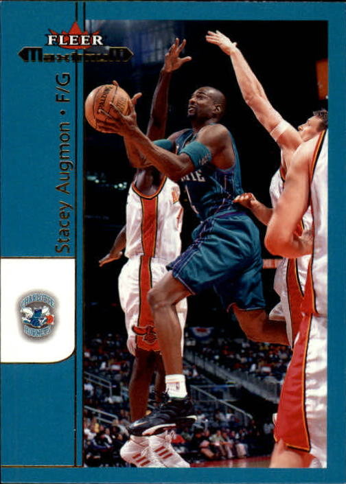 2001-02 Fleer Maximum #43 Stacey Augmon