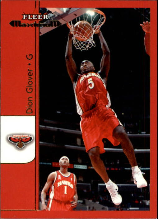2001-02 Fleer Maximum #44 Dion Glover