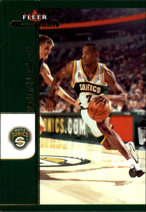 2001-02 Fleer Maximum #47 Rashard Lewis