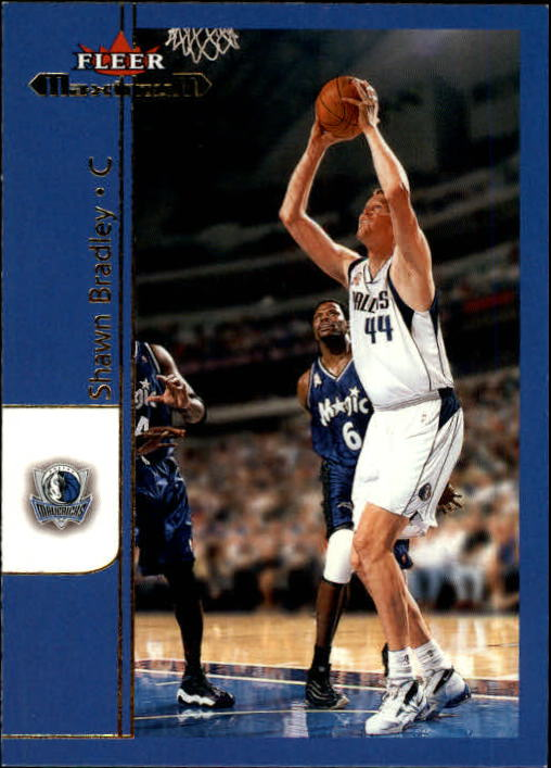 2001-02 Fleer Maximum #48 Shawn Bradley
