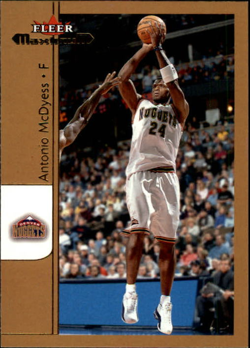 2001-02 Fleer Maximum #50 Antonio McDyess