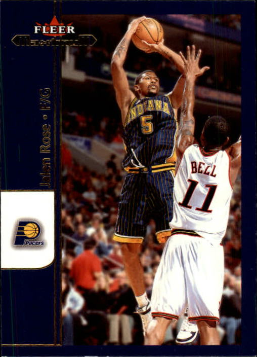 2001-02 Fleer Maximum #52 Jalen Rose