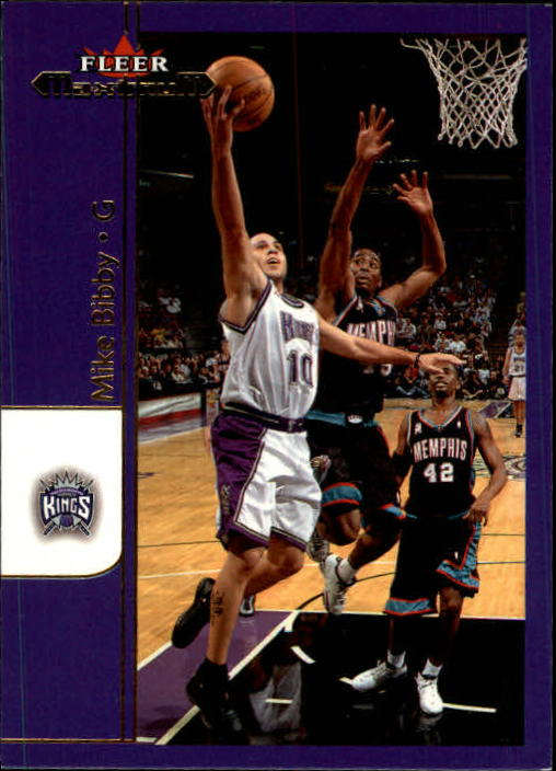 2001-02 Fleer Maximum #53 Mike Bibby