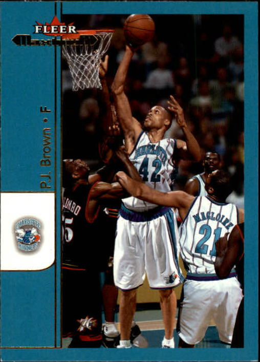 2001-02 Fleer Maximum #54 P.J. Brown