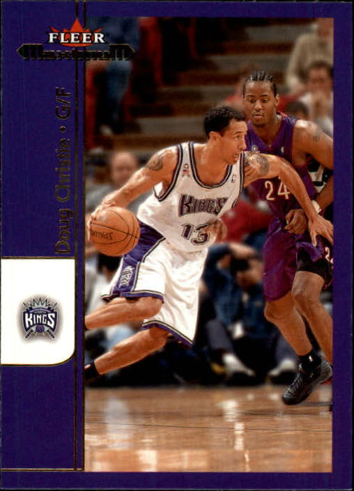 2001-02 Fleer Maximum #56 Doug Christie