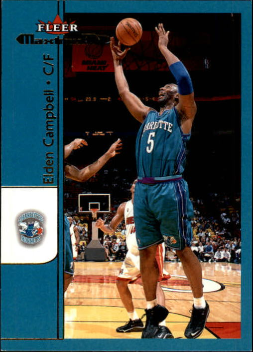 2001-02 Fleer Maximum #57 Elden Campbell