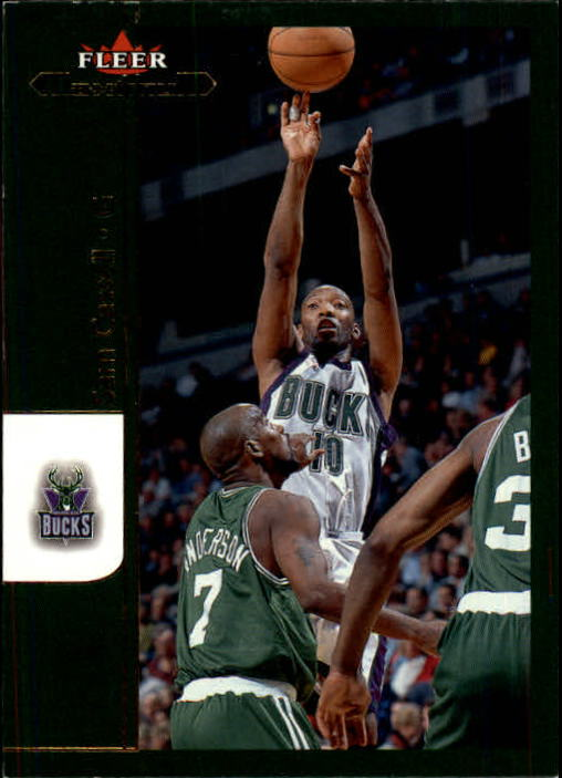 2001-02 Fleer Maximum #61 Sam Cassell