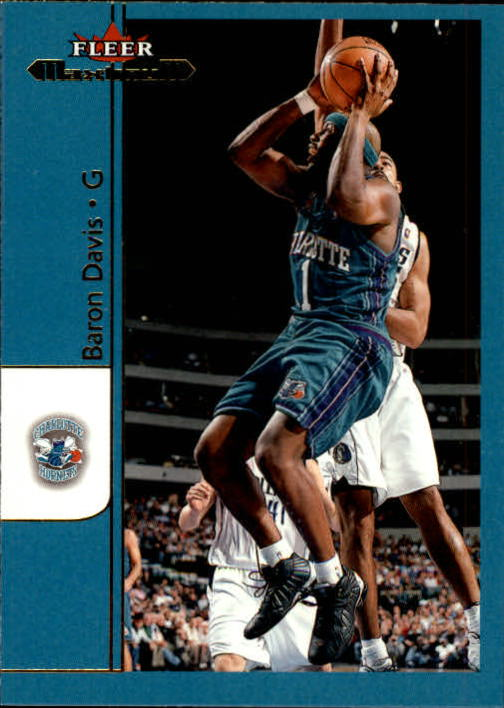 2001-02 Fleer Maximum #62 Baron Davis