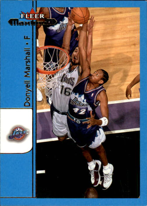 2001-02 Fleer Maximum #64 Donyell Marshall