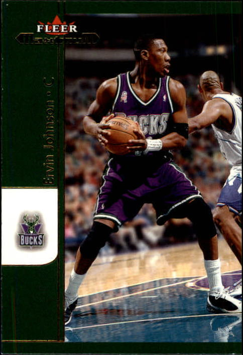 2001-02 Fleer Maximum #65 Ervin Johnson