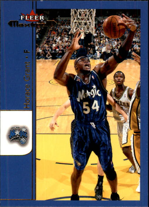 2001-02 Fleer Maximum #66 Horace Grant