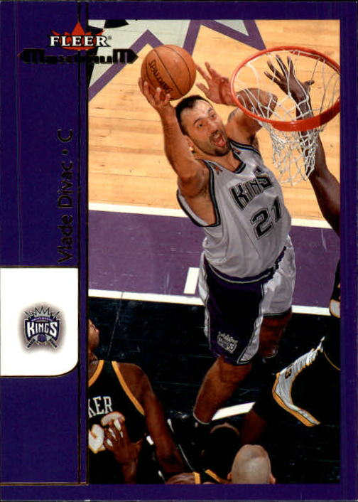 2001-02 Fleer Maximum #68 Vlade Divac