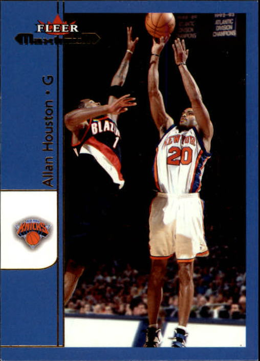 2001-02 Fleer Maximum #69 Allan Houston