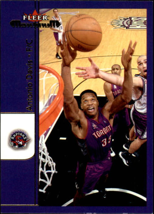 2001-02 Fleer Maximum #70 Antonio Davis
