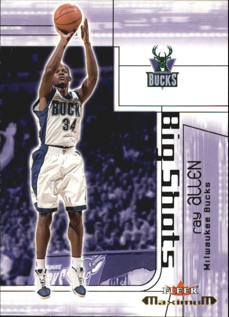 2001-02 Fleer Maximum Big Shots #2 Ray Allen