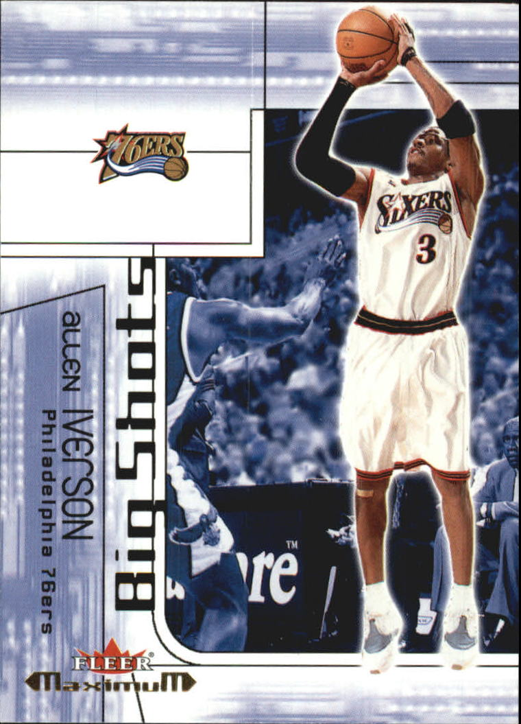 2001-02 Fleer Maximum Big Shots #3 Allen Iverson