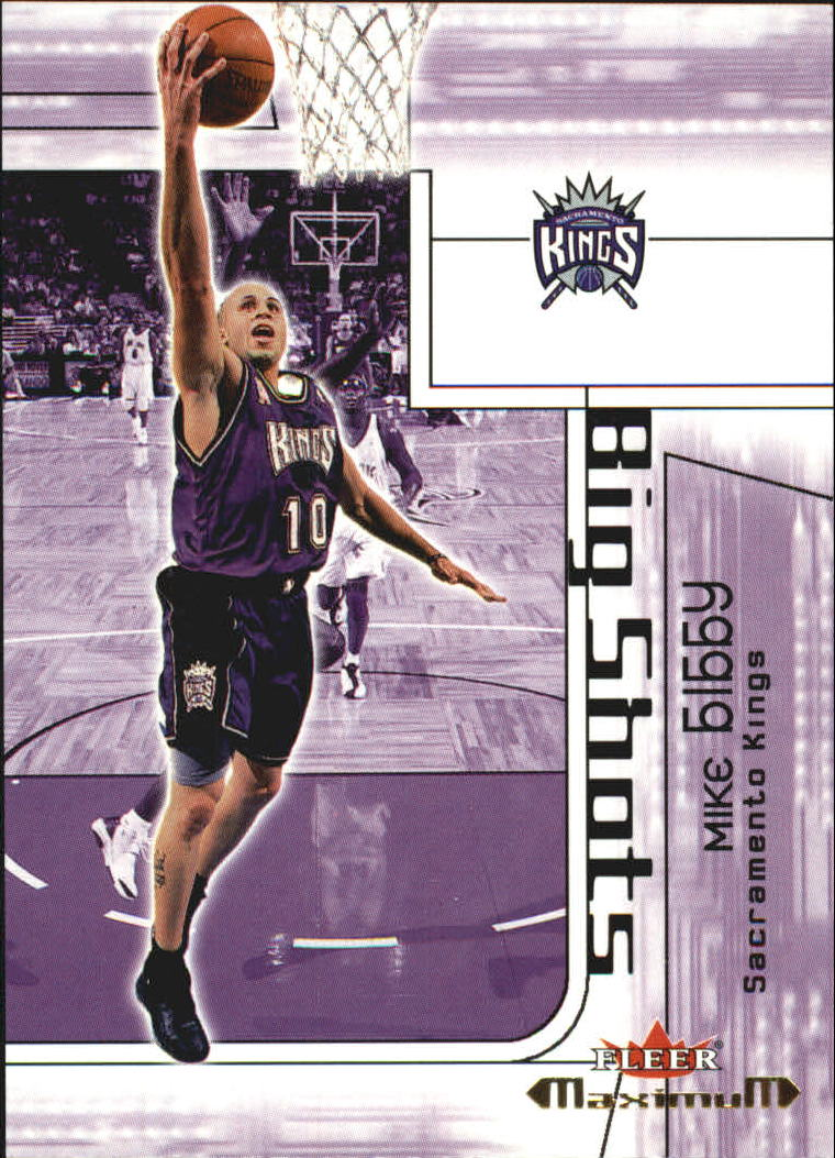 2001-02 Fleer Maximum Big Shots #7 Mike Bibby