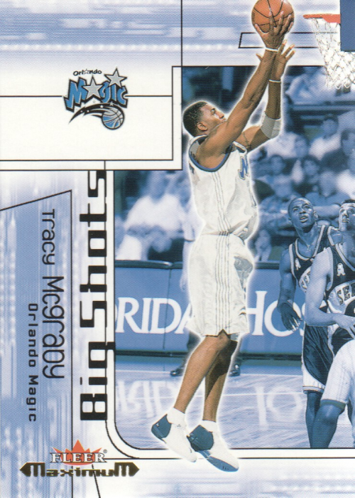 2001-02 Fleer Maximum Big Shots #13 Tracy McGrady