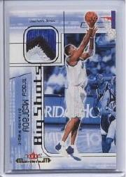 2001-02 Fleer Maximum Big Shots Jerseys #9 Tracy McGrady