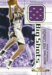 2001-02 Fleer Maximum Big Shots Jerseys #10 Anfernee Hardaway