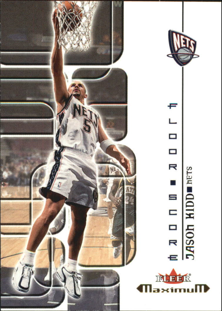 2001-02 Fleer Maximum Floor Score #1 Jason Kidd