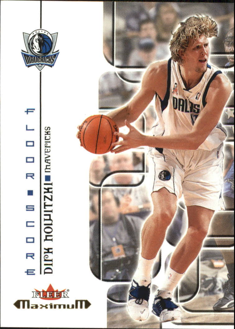 2001-02 Fleer Maximum Floor Score #4 Dirk Nowitzki