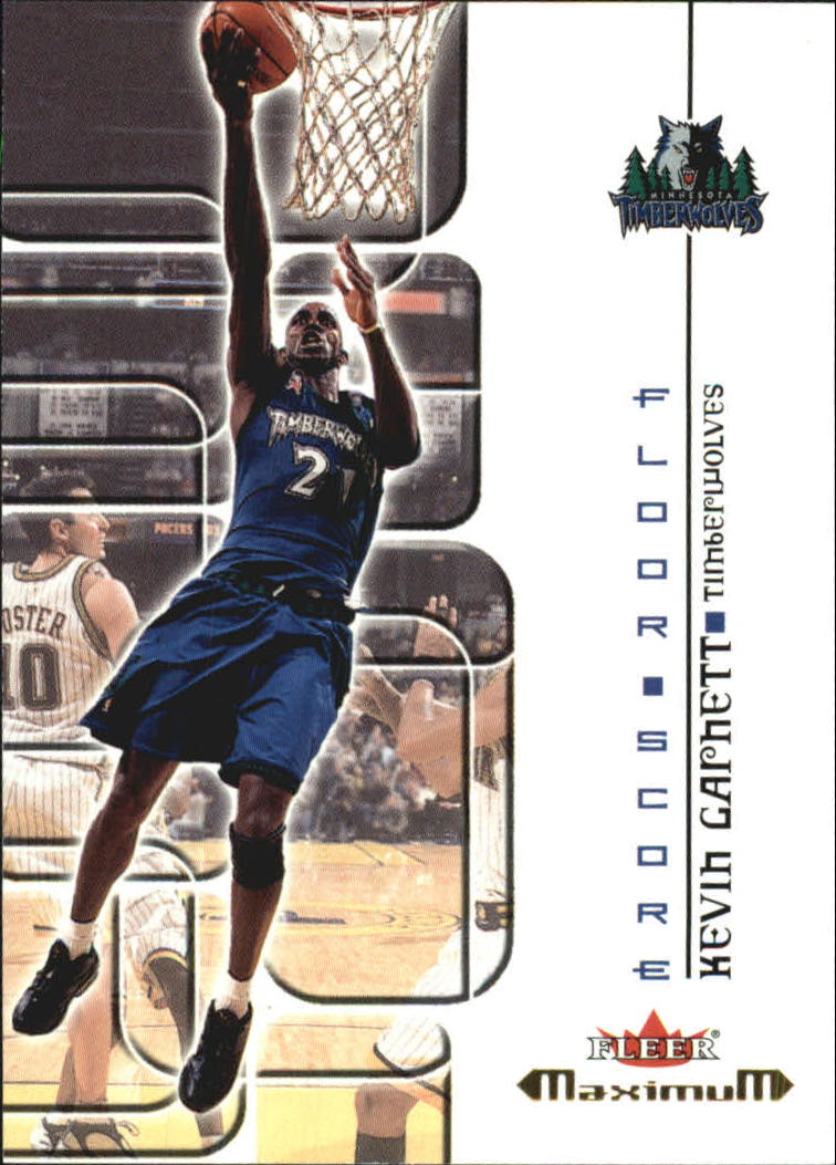 2001-02 Fleer Maximum Floor Score #14 Kevin Garnett
