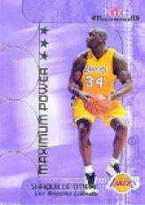 2001-02 Fleer Maximum Power #3 Shaquille O'Neal