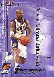 2001-02 Fleer Maximum Power #14 Stephon Marbury