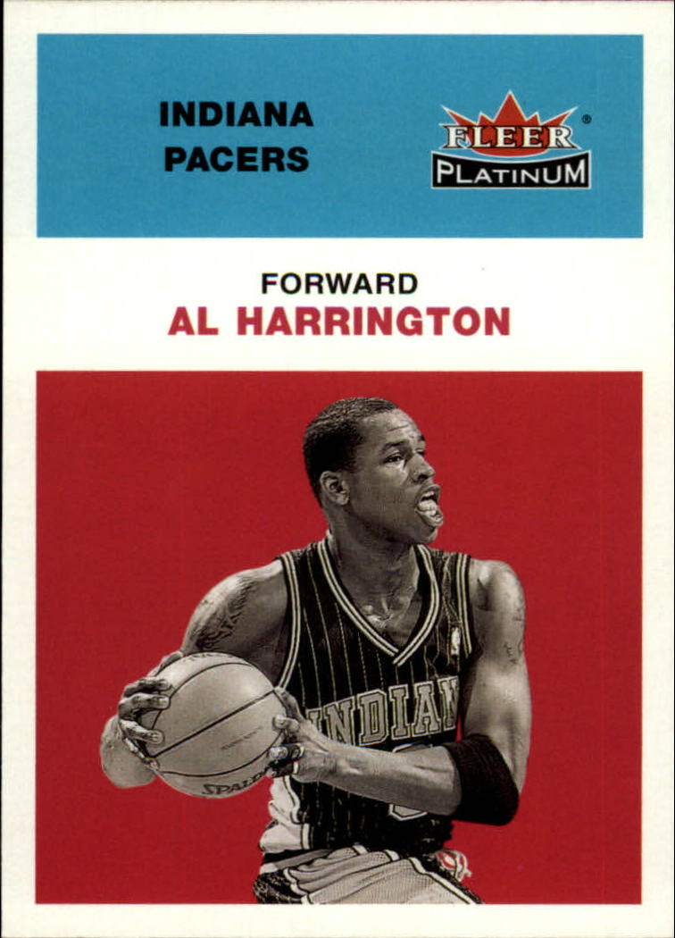 2001-02 Fleer Platinum #187 Al Harrington