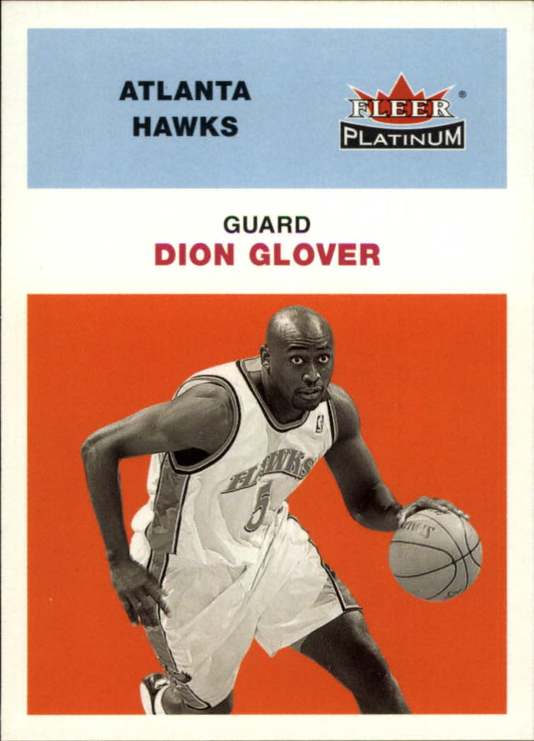 2001-02 Fleer Platinum #196 Dion Glover