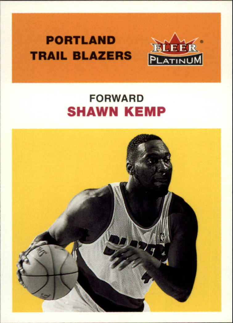 2001-02 Fleer Platinum #198 Shawn Kemp