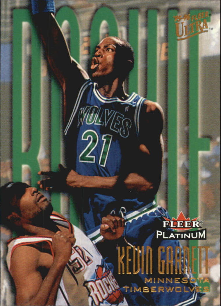 2001-02 Fleer Platinum 15th Anniversary Reprints #15 Kevin Garnett
