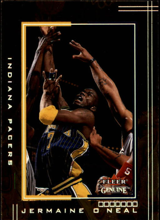 2001-02 Fleer Genuine #50 Jermaine O'Neal