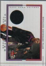2001-02 Fleer Genuine Coverage Plus #4 Vince Carter