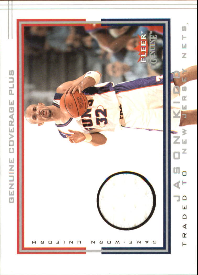 2001-02 Fleer Genuine Coverage Plus #13 Jason Kidd