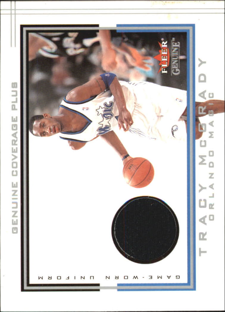2001-02 Fleer Genuine Coverage Plus #19 Tracy McGrady