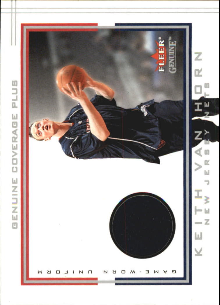 2001-02 Fleer Genuine Coverage Plus #24 Keith Van Horn