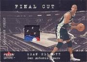 2001-02 Fleer Genuine Final Cut #4 Sean Elliott