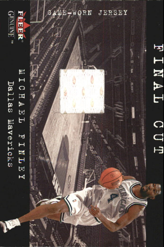 2001-02 Fleer Genuine Final Cut #6 Michael Finley