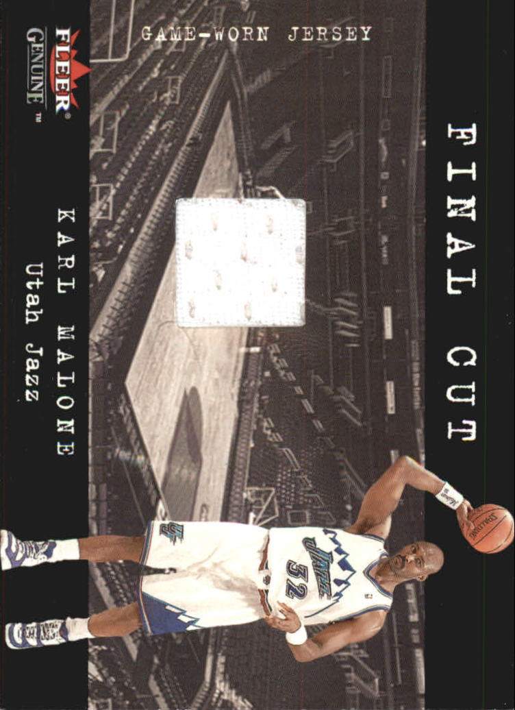 2001-02 Fleer Genuine Final Cut #13 Karl Malone
