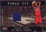 2001-02 Fleer Genuine Final Cut #22 Lamar Odom