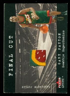 2001-02 Fleer Genuine Final Cut #23 Gary Payton