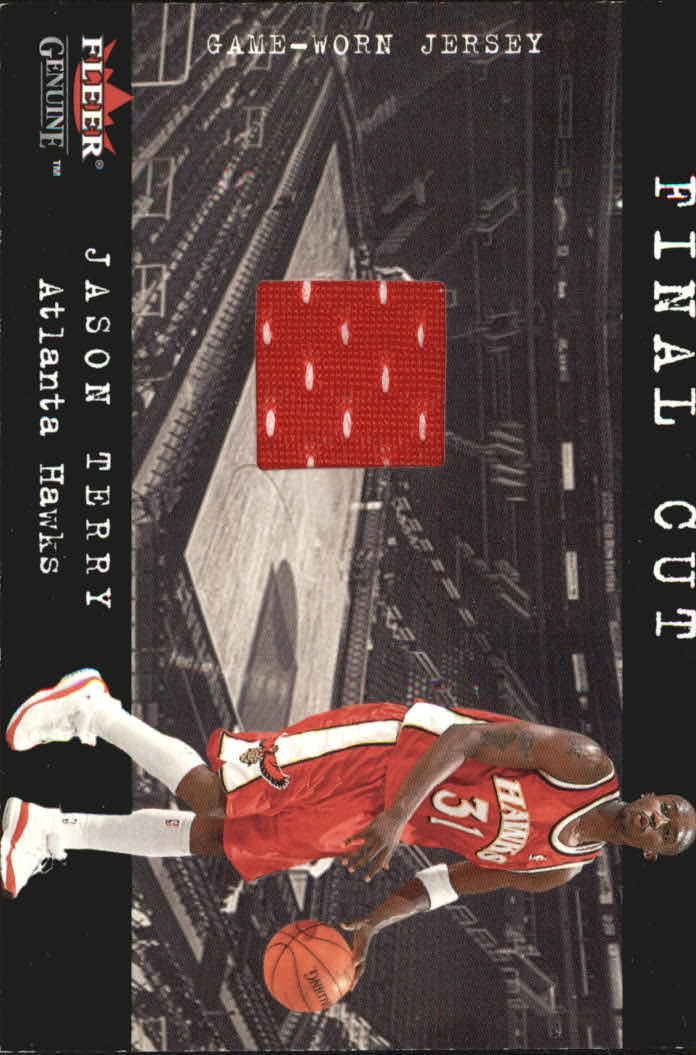 2001-02 Fleer Genuine Final Cut #31 Jason Terry
