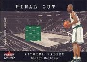 2001-02 Fleer Genuine Final Cut #33 Antoine Walker