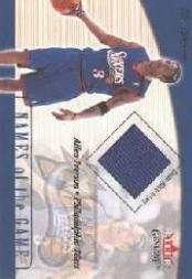 2001-02 Fleer Genuine Names of the Game #5 Allen Iverson